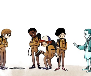 eleven, stranger things, and will byers image