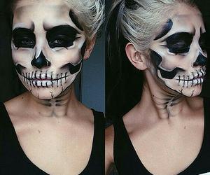 Halloween, make up, and girl image