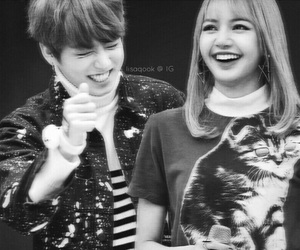 couple, kpop, and lisa image