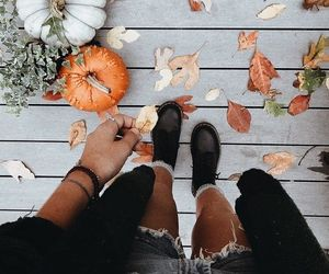 autumn, seasons, and style image