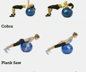 exercise, face, and health image