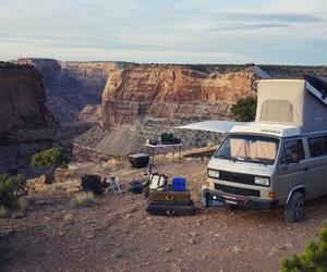 camping, grand canyon, and Road Trip image