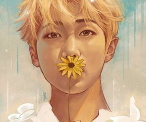 fanart, bts, and bangtan boys image