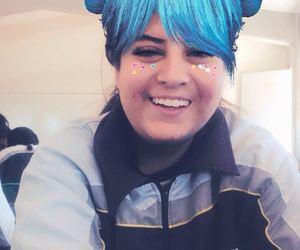 azul, blu, and foto image
