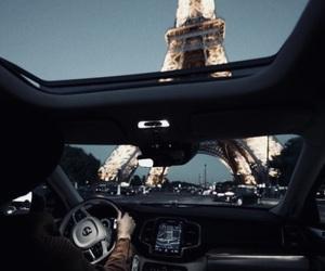 paris, car, and travel image