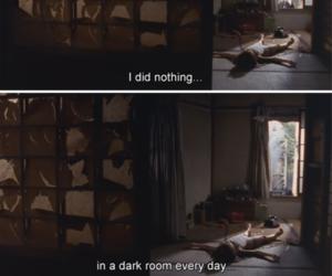 cry, dark, and film image