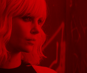 Charlize Theron and atomic blonde image