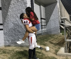 couple, goals, and football image
