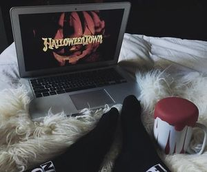 Halloween, fall, and movie image
