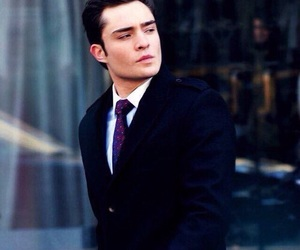 ed westwick, gossip girl, and chuck bass image
