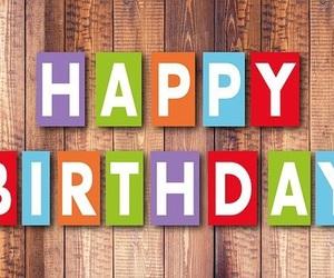 birthday, wood, and b-day image