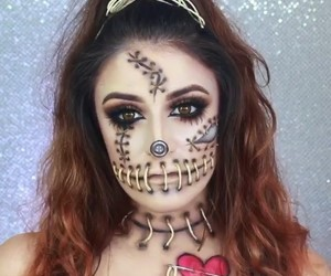 cosmetics, makeup, and voodoo doll image