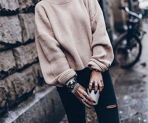 sweater and causual image