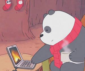 animal, comic, and bear image