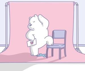 animal, bear, and comic image