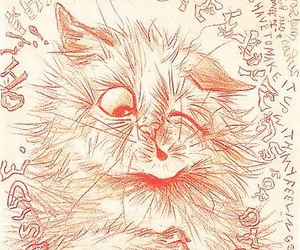 cat, schizophrenia, and drawing image