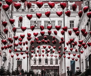 love, red, and heart image
