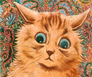 cat and louis wain image