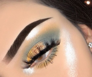 beauty, eyebrows, and highlight image