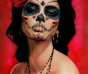 art, beauty, and skull image