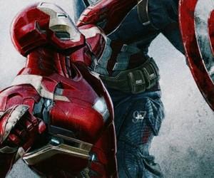 iron man, Marvel, and wallpaper image
