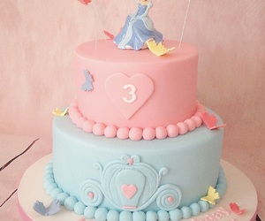 birthday, butterfly, and cake image