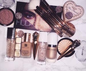 lipstick, makeup, and highlight image