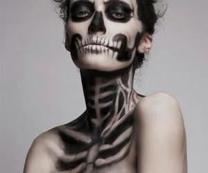 make up, halloween beauty, and whi challenge image