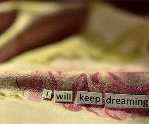 Dream, dreaming, and keep image