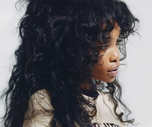 hair, sza, and bae image