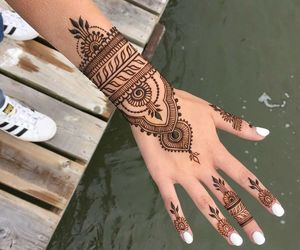 henna, adidas, and nails image