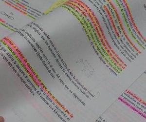 studing, stick notes, and estudiar image