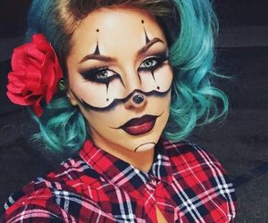 Halloween, article, and makeup image