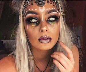 Halloween, makeup, and beauty image