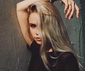 girl, blonde, and scarlett leithold image