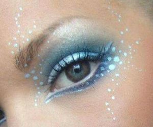 blue, cosmetics, and eyeshadow image