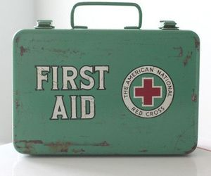 book, first aid, and vintage image