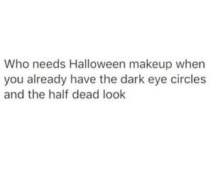 Halloween, funny, and make up image