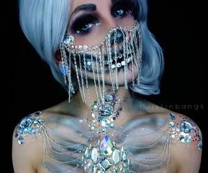 beauty, Halloween, and makeup image