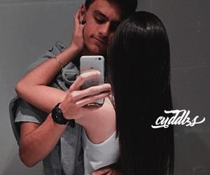 couple, couples, and hug image