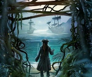 disney, jack sparrow, and pirates of caribbean image