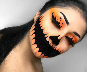 Halloween, makeup, and inspiration image