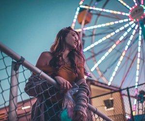 girl and lights image