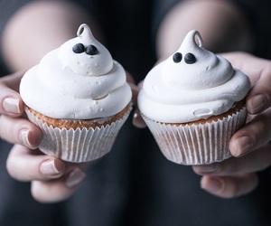 cupcake, diy, and ghost image