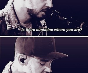 chester, friendship, and linkin park image