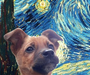 art, wallpaper, and van gogh image