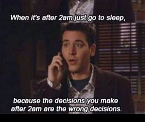 deep, himym, and how i met your mother image