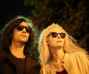 tom hiddleston, only lovers left alive, and Tilda Swinton image
