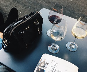 fashion, wine, and zadig and voltaire image