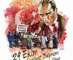 29 october and turkish republic image